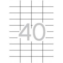 4000 ETIQUETAS APLI A4 52.5X29.7 (100 HOJAS)