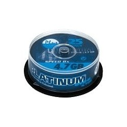 DVD-R PLATINUM 4,7GB 16X TARRINA 25UND.