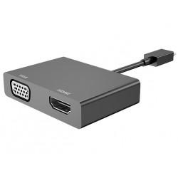 Adaptador HP Micro USB a HDMI/VGA K2P81AA