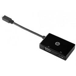Adaptador HP Micro HDMI a HDMI/VGA K8E31AA